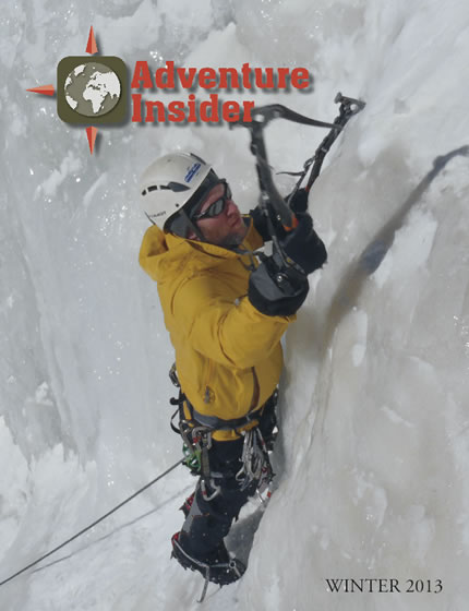 Adventure Insider Winter 2013: Whistler, Ice Climbing Gloves, Snowboarding, Mushing