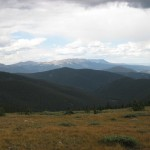View from Georgia Pass - Breckenridge, Colorado
