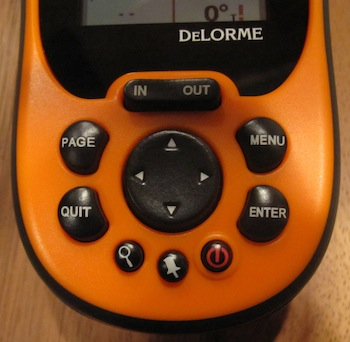 DeLorme PN-40 Buttons